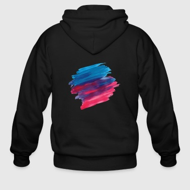 Paint Brush paint brush - Men's Zip Hoodie