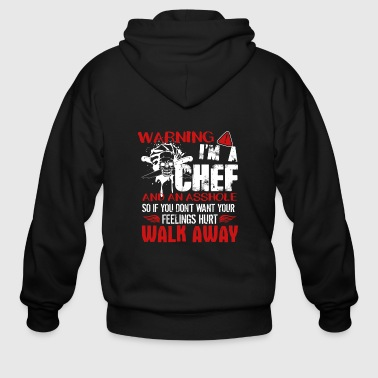 Chef Shirt - Men's Zip Hoodie