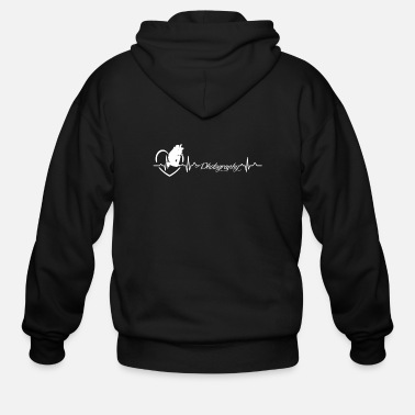 Photography Photography Heartbeat Shirt - Men's Zip Hoodie
