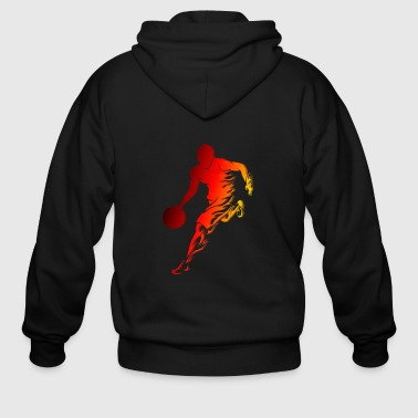 Basketball Player Shirts - Men's Zip Hoodie