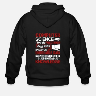 Computer Computer Science Shirt - Men's Zip Hoodie