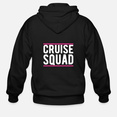 Funny Cruise Cruise Squad Funny Cruise T Shirt - Men's Zip Hoodie