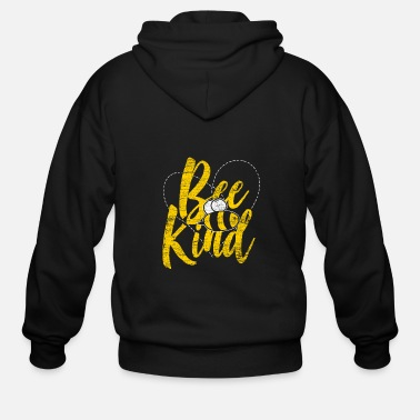 Bee Bee kind - Men's Zip Hoodie