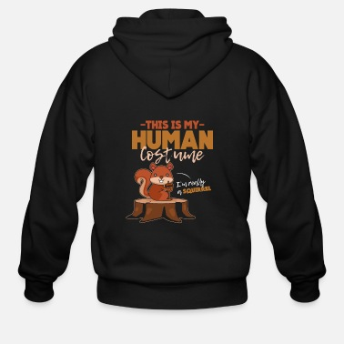 Squirrel Squirrel - Men's Zip Hoodie