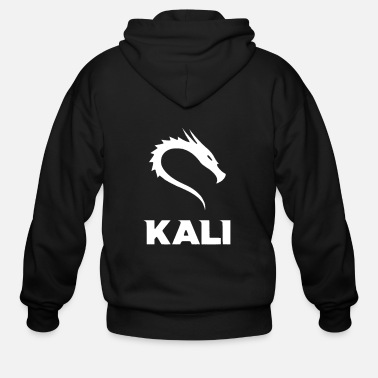 Hacker Kali Linux Cyber Security Hacking Fun - Men's Zip Hoodie