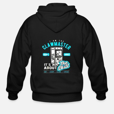 Machine Claw Machine T Shirt- Skill Crane Lovers - Men's Zip Hoodie