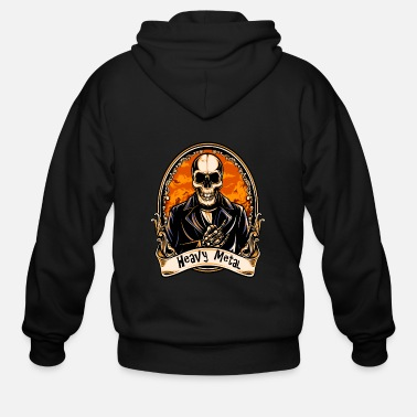 Heavy Metal HEAVY METAL - Men's Zip Hoodie