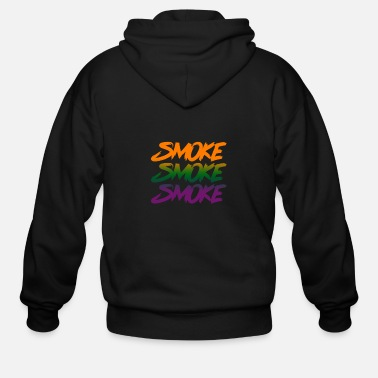 Smoking Smoke Smoke Smoke - Men's Zip Hoodie
