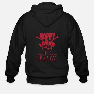 Labor labor day - Men's Zip Hoodie