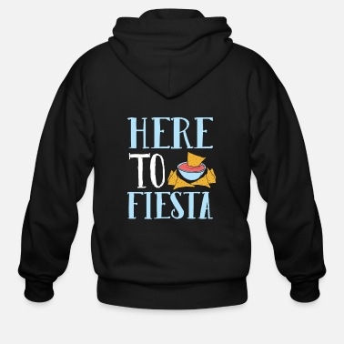 Fiesta Here To Fiesta - Men's Zip Hoodie