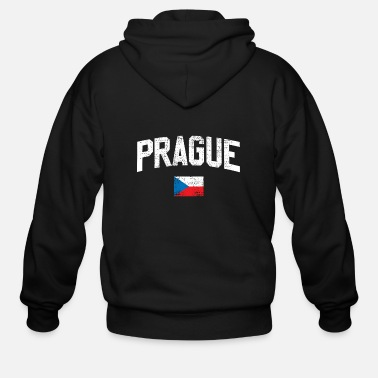 Prague Prague - Men's Zip Hoodie