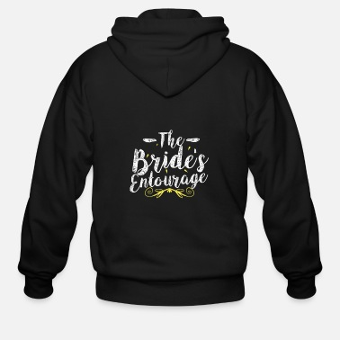 Wedding Party Bride wedding hen party - Men's Zip Hoodie