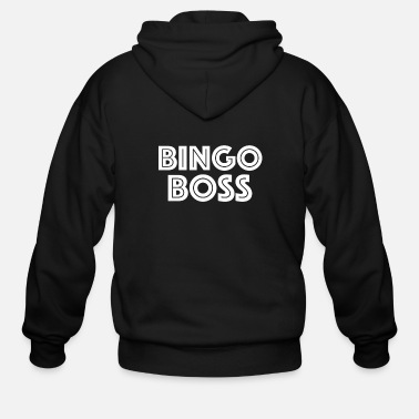 Bingo Bingo Boss Bingo Shirt - Men's Zip Hoodie