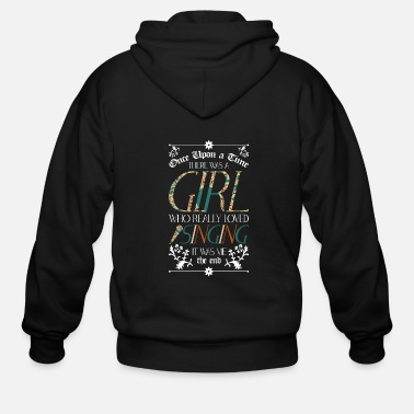 Chant Singing Singer Chanting Funny Gift - Men's Zip Hoodie