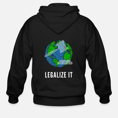 Paper Legalize It - Men's Zip Hoodie