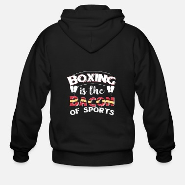 Photography Boxing Boxer Funny Gift - Men's Zip Hoodie