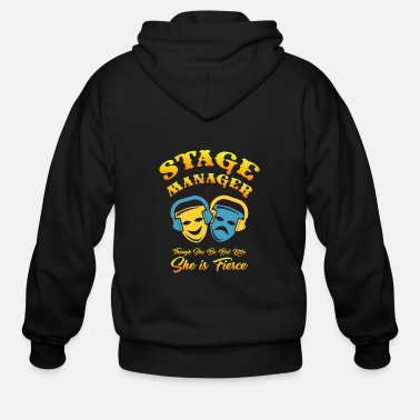 Stage Stage Manager - Men's Zip Hoodie