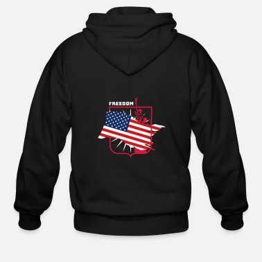 Advent Independenceday - Men's Zip Hoodie