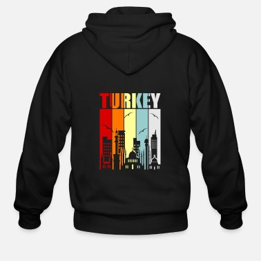 Turkey Turkey - Men's Zip Hoodie