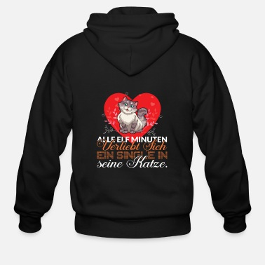 Wedding Day Every eleven minutes a single person falls in love - Men's Zip Hoodie