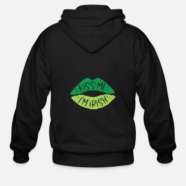Ireland Funny Irish Quote St Patricks Day Design - Men's Zip Hoodie