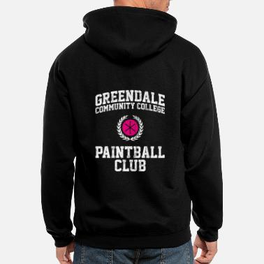 Community Greendale Community College Paintball Club - Men's Zip Hoodie