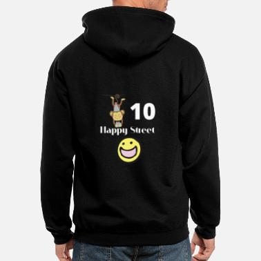 10 Happy Street - Men's Zip Hoodie