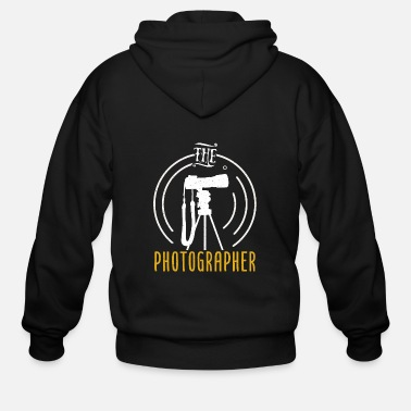 Quote Photography Photographer Fan Lover Gift - Men's Zip Hoodie
