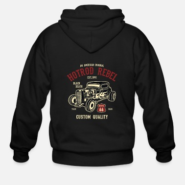Hot Rod Hot Rod Rebel2 - Men's Zip Hoodie