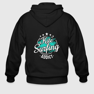 Kitesurfer Kiteboarder Cool Funny Sayings Tee Gift - Men's Zip Hoodie
