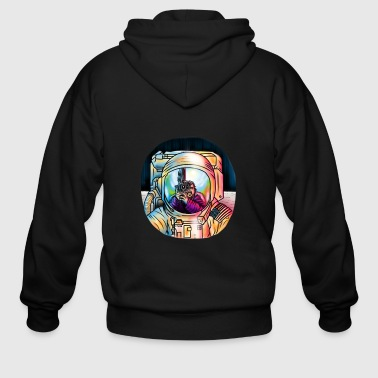 THE MOONING - Men's Zip Hoodie