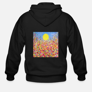 Meadow Wildflower Meadows - Men's Zip Hoodie