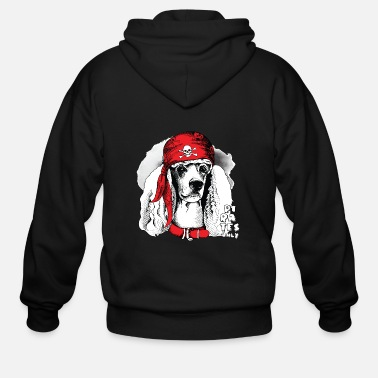 Pirate Flag THE PIRATES OF DOG - Men's Zip Hoodie