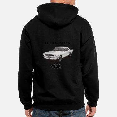 Ford Mustang Mustang Circle Unisex Adult Crewneck Sweatshirt for Men and Women