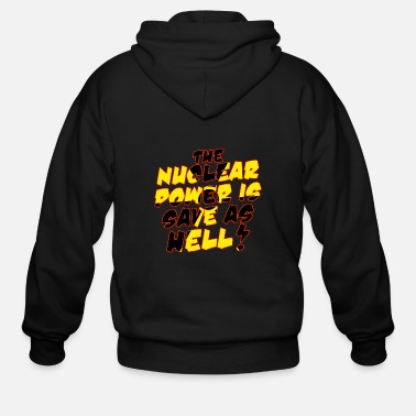 Nuclear Power Nuclear Power - Men's Zip Hoodie