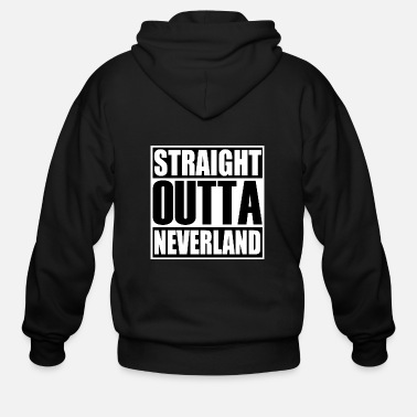 Out Straight Out Naneverland Limited Edition Design - Men's Zip Hoodie