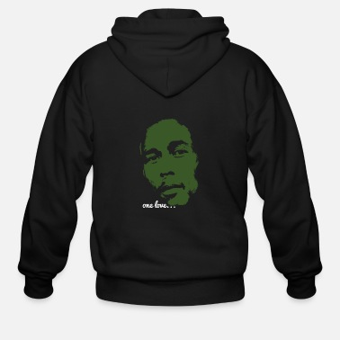 Marley Bob Marley - One Love - Men's Zip Hoodie