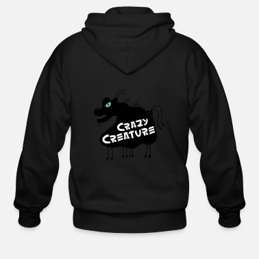 Little Creatures Crazy Creature - Men's Zip Hoodie