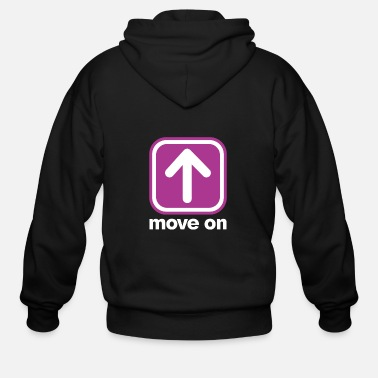 Move MOVE ON MOVE ON - Men's Zip Hoodie