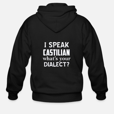 Dialect CASTILIAN dialect - Men's Zip Hoodie