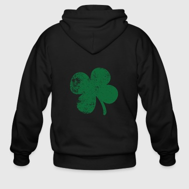 Four Leaf Clover St. Patrick's Day - Men's Zip Hoodie