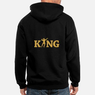 Fitness Fitness king - Men's Zip Hoodie