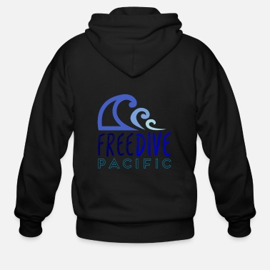 Freediving Freedive pacific - Men's Zip Hoodie
