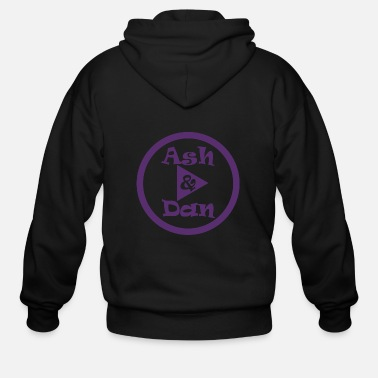 Youtube Channel Ash and Dan YouTube Channel - Men's Zip Hoodie