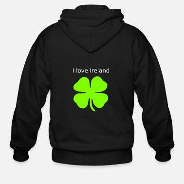 I Love Ireland I love Ireland - Men's Zip Hoodie