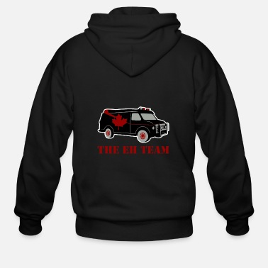 Team Canada The Eh Team Canada - Men's Zip Hoodie