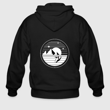 Whale watching - Men's Zip Hoodie