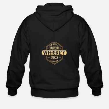 Whiskey whiskey and girls - Men's Zip Hoodie