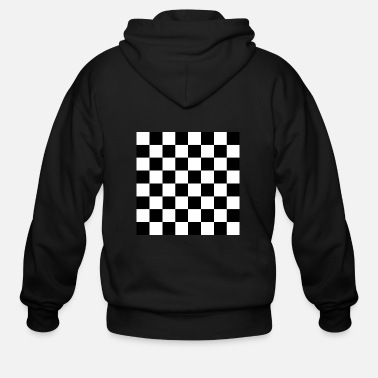 Chess Board Chess board - Men's Zip Hoodie