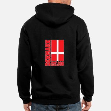 Denmark Denmark Foundation / Gift Flag - Men's Zip Hoodie